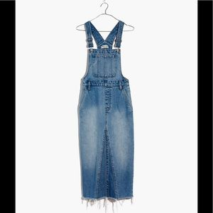 madewell reconstructed overall jumper BNWT 0
